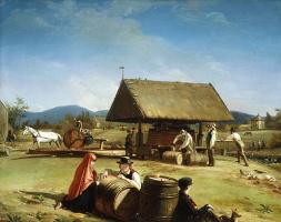 Уильям Сидни Маунт. Изготовление сидра
