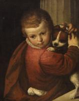 Paolo Veronese. Boy with a dog