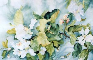 Луиза Морин. Цветы