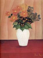 Анри Руссо. Белая ваза с цветами