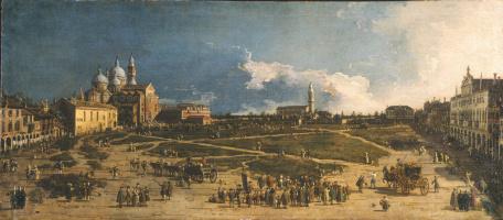 Джованни Антонио Каналь (Каналетто). Площадь Прато-делла-Валле в Падуе