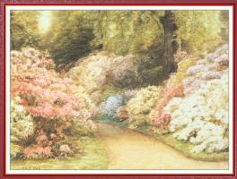 Эбенезер Белл Кук. Цветущий сад