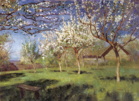 Исаак Ильич Левитан. Цветущие яблони