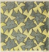 Maurits Cornelis Escher. Bird, fish (No. 110)