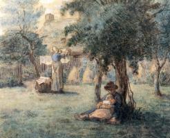Жан-Франсуа Милле. Стирка
