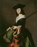 Франсиско де Сурбаран. Святая Марина