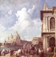 Джованни Антонио Каналь (Каналетто). Пьяццетта в Венеции