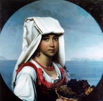 Орест Адамович Кипренский. Неаполитанская девочка с плодами