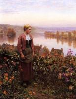 Дэниел Риджуэй Найт. Осень в саду