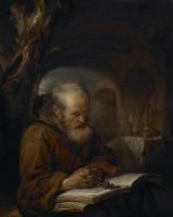 Геррит (Герард) Доу. Отшельник за молитвой