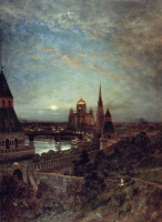 Alexey Petrovich Bogolyubov. The kind of evening Moscow