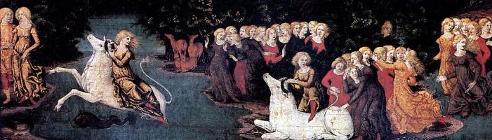 Либерале Да Верона. Похищение Европы