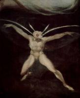 Иоганн Генрих Фюссли. Царица эльфов Титания и Основа, ткач с головой осла, деталь: эльф