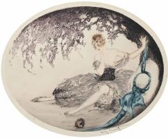 Икар Луи Франция 1888 - 1950. Упавшее гнездо. 1924