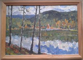 Лазарь Семенович Новицкий. Озеро