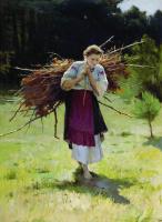 Николай Корнильевич Пимоненко. Из лесу 1900