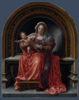 Ян Госсарт. Дева с младенцем