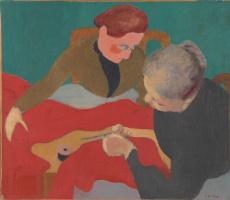 Jean Edouard Vuillard. Dressmaker