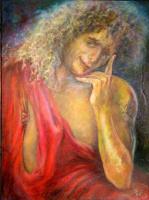 Silva Iosifovna Zalmanson. Portrait of a man in a toga