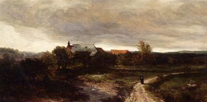 Йоханнес Билдерс. Перед дождем