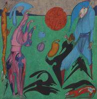 Михаил Шемякин. Сюрреалистическая композицияя . 1977