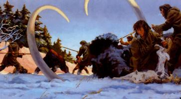 Грегори Манчесс. Нападение пещерного медведя
