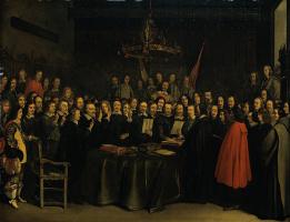 Герард Терборх. Ратификация договора