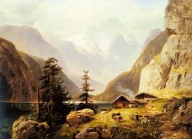 Хорст Хакер. Альпийская долина