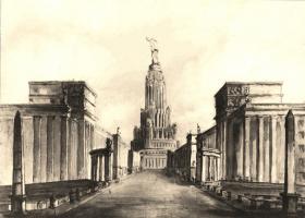 Лев Владимирович Руднев. Москва. Главная магистраль