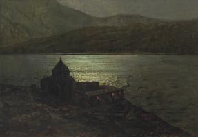 Иван Федорович Шультце. Монастырь Севанаванк на озере Севан