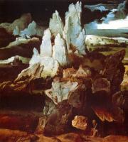 Иоахим Патинир. Святой Иероним и скалы