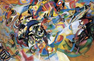 Wassily Kandinsky. Composition VII