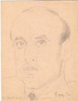 Неизвестный  художник. Портрет М. Луцкого