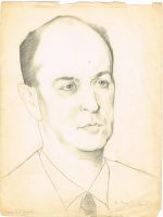 Unknown artist. Portrait of A. A. Borovoy
