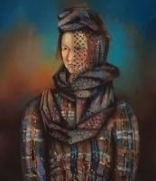 Александр Григорьевич Тышлер. Портрет жены, Анастасии Тышлер
