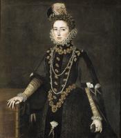 Sofonisba Angisola. Infanta Catalina Michaela of Austria