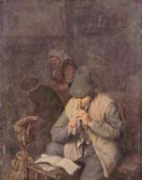 Адриан Янс ван Остаде. Флейтист