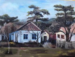 Svetlana Sergeevna Balaeva. Village Pionerskoe (Crimea)