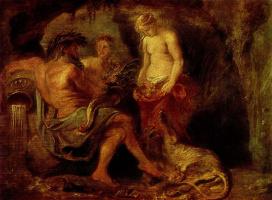 Бог реки Шельды, Кибела и богиня города Антверпена