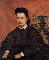 Джованни Фаттори. Портрет первой жены художника