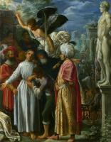 Адам Эльсхаймер. Святого Лаврентия подготовили к мученичеству