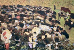 Victor Ivanovich Zaretsky. The herd