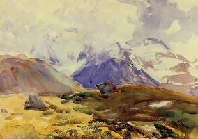 John Singer Sargent. Simplon