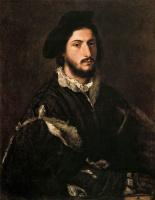 Тициан Вечеллио. Портрет Виченцо Мости (Портрет Томмазо Мости)