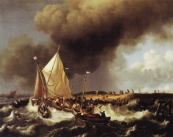 Людольф Бакхёйзен. Корабль
