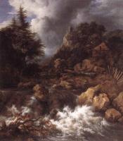 Якоб Исаакс ван Рейсдал. Горный водопад