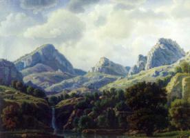 Константин Федорович Богаевский. Горный пейзаж