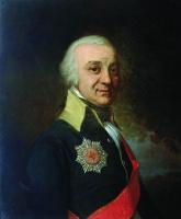 Владимир Лукич Боровиковский. Портрет сенатора Рунича.