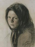 Иван Семенович Куликов. Портрет крестьянки