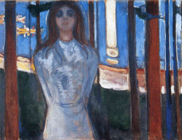 Edvard Munch. The voice (Summer night)